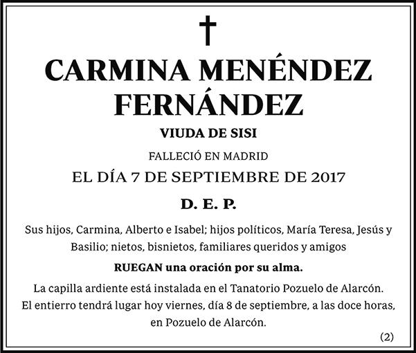 Carmina Menéndez Fernández